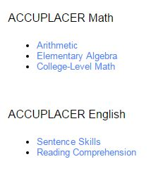 Essay samples for accuplacer